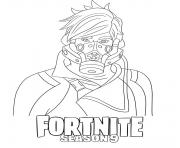 Printable Ether Fortnite Season 9 coloring pages