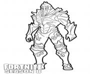 Printable Ruin skin from Fortnite Season 8 coloring pages