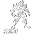 Printable Ruin detailed skin from Fortnite Season 8 coloring pages