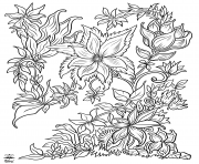 Floral Fantasy coloring pages