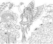 adults flowers queen by bimdeedee coloring pages