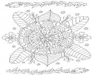 simple flowers drawing by olivier coloring pages