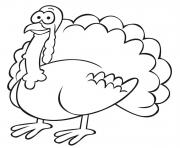 Printable happy turkey thanksgiving 14 october coloring pages