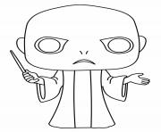 Printable Lord Voldemort coloring pages
