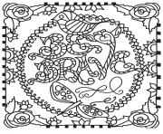 Printable be brave coloring pages