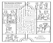 Printable The doctrines of Christ teaches us how to return to Heavenly father coloring pages