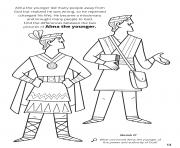 Printable Alma the younger led many people away from God but realized he was wrong coloring pages