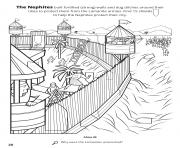 The Nephites built fortified walls and dug ditches around their citites