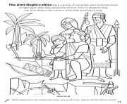 Printable The Anti Nephi Lehies were a group of Lamanites who promised never to fight again coloring pages