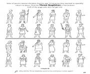 Printable Nine of Jesus twelve disciples lived to age 72 Find the Three Nephites coloring pages