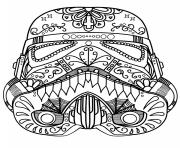 Printable star wars mandala trooper coloring pages
