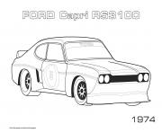 Ford Capri Rs3100 1974