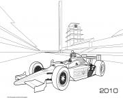 Printable F1 Honda Bsa 2010 coloring pages