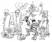 Halloween Characters for Kids Fun