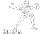 Printable P 1000 Fortnite season 10 coloring pages