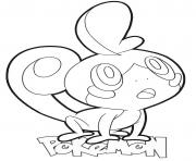Printable Sobble Pokemon coloring pages