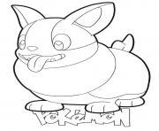 Printable Yamper Pokemon coloring pages