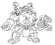 Printable overwatch Torbjorn coloring pages