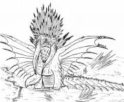 Printable dragos bewilderbeast dragon coloring pages