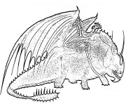 Printable Skullcrusher Dragon coloring pages