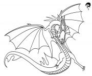 Printable death song dragon coloring pages
