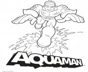 Aquaman Cartoon Happy DC