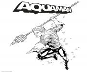 Aquaman ready to fight