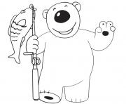Poby Polar Bear Fisherman