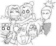 naruto squad 7 and 10