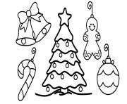 christmas tree free worksheet for kids