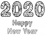2020 Happy New Year Page