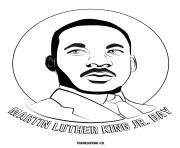 Printable MLK Martin Luther King Jr Day coloring pages