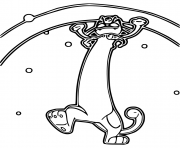 Printable pokemon gigamax miaouss coloring pages