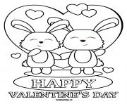 happy valentines day bunnies