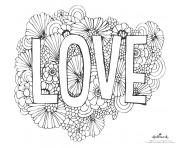 love flowers background