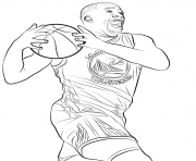 Printable draymond green coloring pages