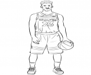 Printable jimmy butler coloring pages