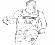 Printable blake griffin coloring pages
