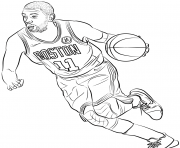 Printable kyrie irving coloring pages