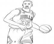 Printable scottie pippen coloring pages