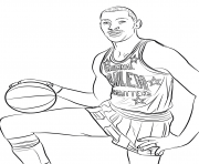Printable wilt chamberlain coloring pages
