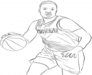 Printable damian lillard coloring pages