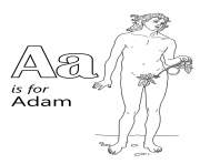 letter a is for adame