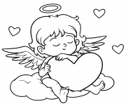 for children valentine s day character angel