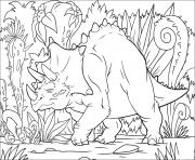 Triceratops in the Jungle