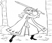 Anna with Sword