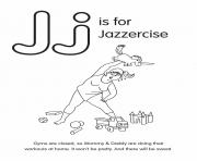 J is for Jazzercise