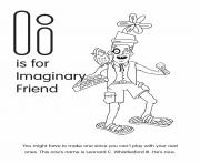 I is for Imaginary Friend