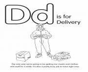 D is for Delivery
