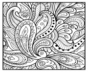 Printable square mandala flowers floral pattern coloring pages